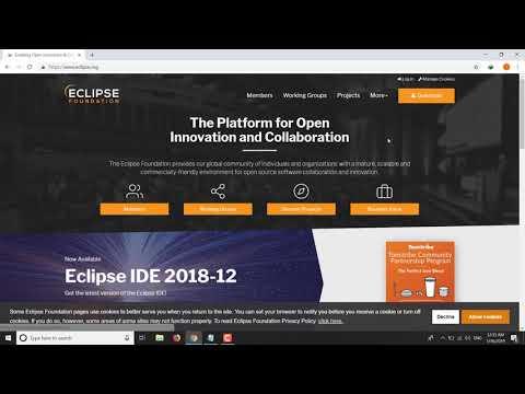 Hướng Dẫn Tải Và Cài Đặt Java - Eclipse Để Lập Trình Java Trên Windows