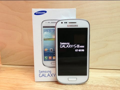 Desempaquetado y primeras impresiones Galaxy S III Mini