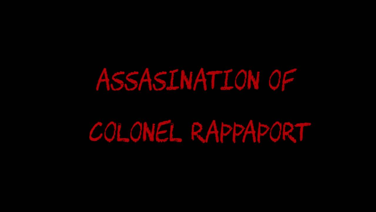 Angelfist fill in the plot #1 - angelfist (1993) - colonel rappaport's assasination
