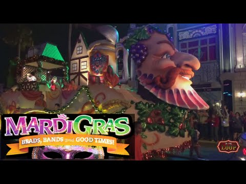 FULL 2016 Mardi Gras Parade from Universal Orlando