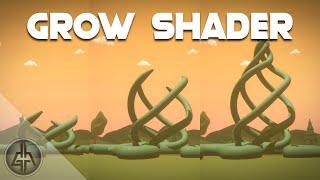 Unity Shader Graph - Grow Vines | Trees Tutorial