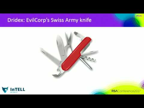 The Dridex Swiss Army Knife: Big Data Dissolves the APT and Crime Grey Area