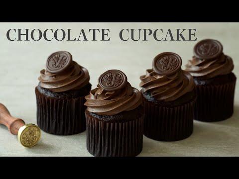 [Eng SUB]노버터 초콜릿 컵케이크 /Heavenly Tasty Chocolate Cupcake  Ever~!/색다른 버터크림.