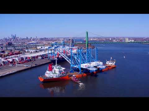 13 Feet Taller: PhilaPort Cranes on the Delaware River Waterfront