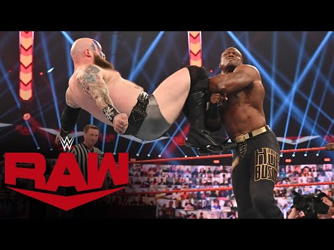 The Viking Raiders, Apollo Crews & Ricochet vs. The Hurt Business: Raw, September 7, 2020