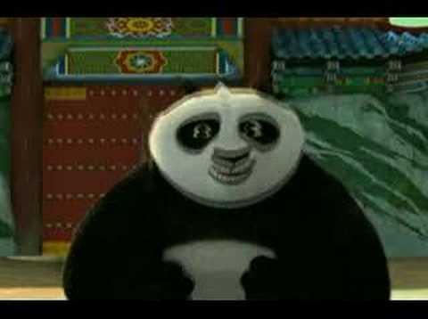 PO interview for Kung Fu Panda Jack Black