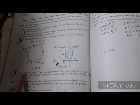 #Class_10 #Mathematics Class 10, 10.2 #Math  #Circle Part 2 Q09 to Q13 thumbnail