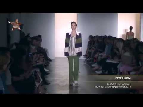From The Runway PETER SOM MADE Fashion Week New York Spring Summer 2015 92842 NMNB