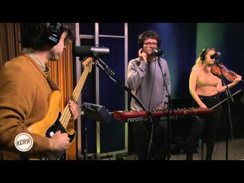 "Ra Ra Riot performing ""Water"" Live on KCRW"