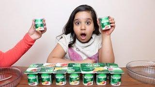 تحدي لا تختار زبادي  السلايم  الخاطئ !!! Don't choose the wrong yogurt slime challenge