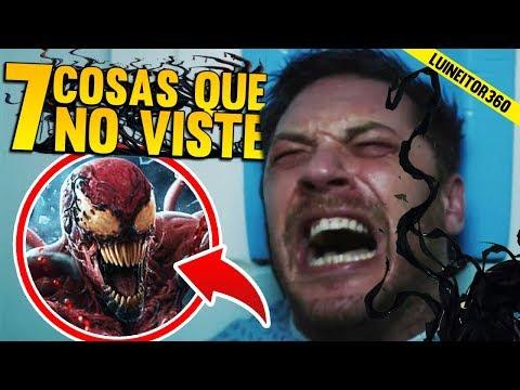 ¿Carnage como villano principal? Venom Trailer 1- Secretos que Tal Vez NO Viste, Easter eggs y Más!