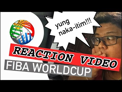 REACTION VIDEO Philippines vs Australia FIBA Worldcup TRENDING !