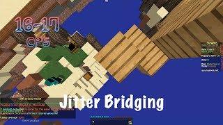 Butterfly Bridging! (Jitter Bridging) Hypixel Skywars