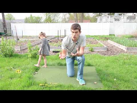 A Tarp + Time = Do Nothing Weed Free Garden