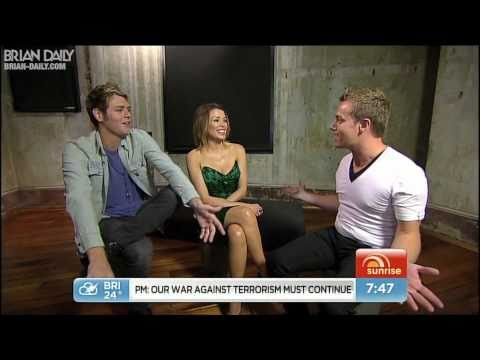 Brian McFadden - Sunrise Interview (May 3, 2011)