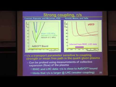 Colloquium December 5th, 2013 -- Studying QCD Under Extreme Conditions at the Large Hadron Collider