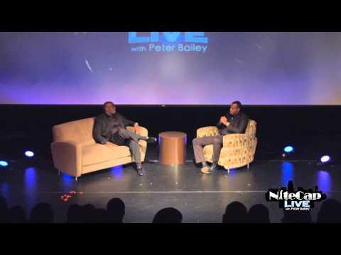Actor Omar Dorsey Talks Selma & Mr. Rose is duced at NiteCap Live