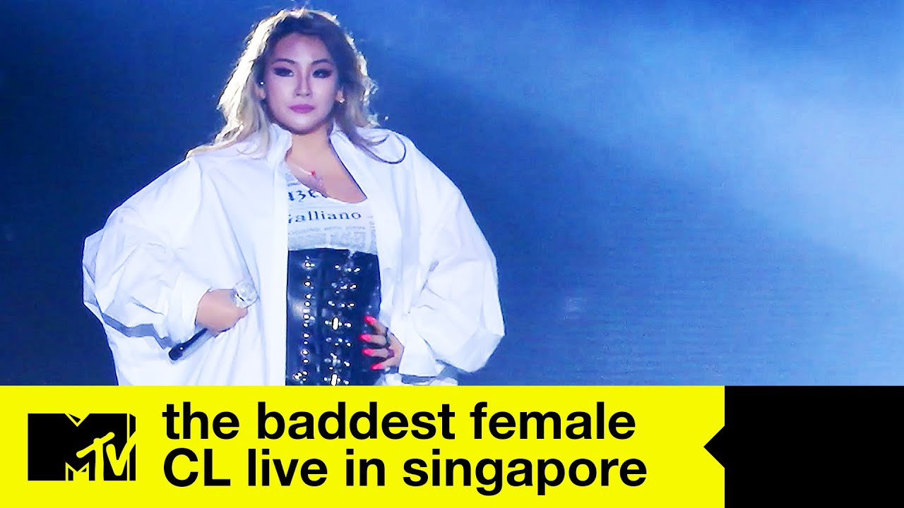 CL - 'The Baddest Female' | Live In Singapore 2018 | MTV Asia