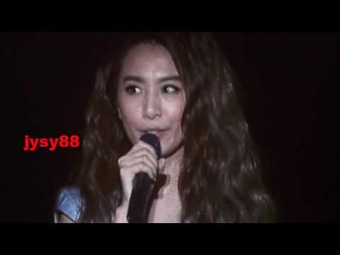田馥甄 (Hebe Tien) - IF tour singapore - talking 1 (5 March 2016)