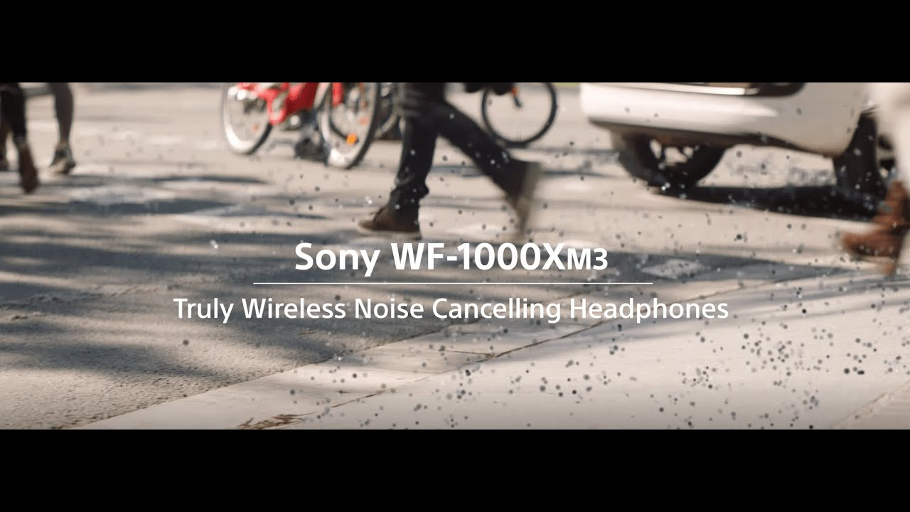 Sony WF-1000XM3 Truly Wireless Noise Cancelling Headphones | Only Music. Nothing Else.