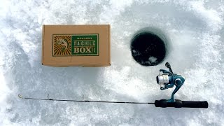 Mystery Tackle Box Ice Fishing Slam Challenge!!!
