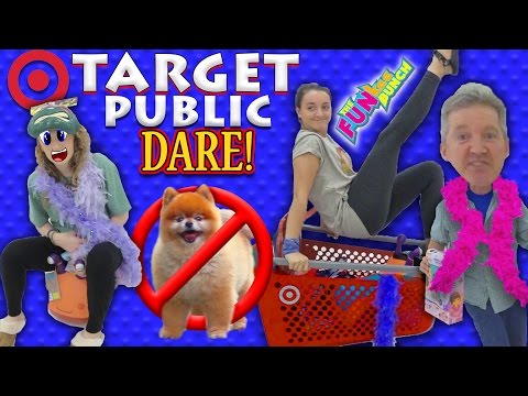 Target Dare Family Fun Turns to Public Embarrassment for The Funkee Bunch! No Dogs Allowed!