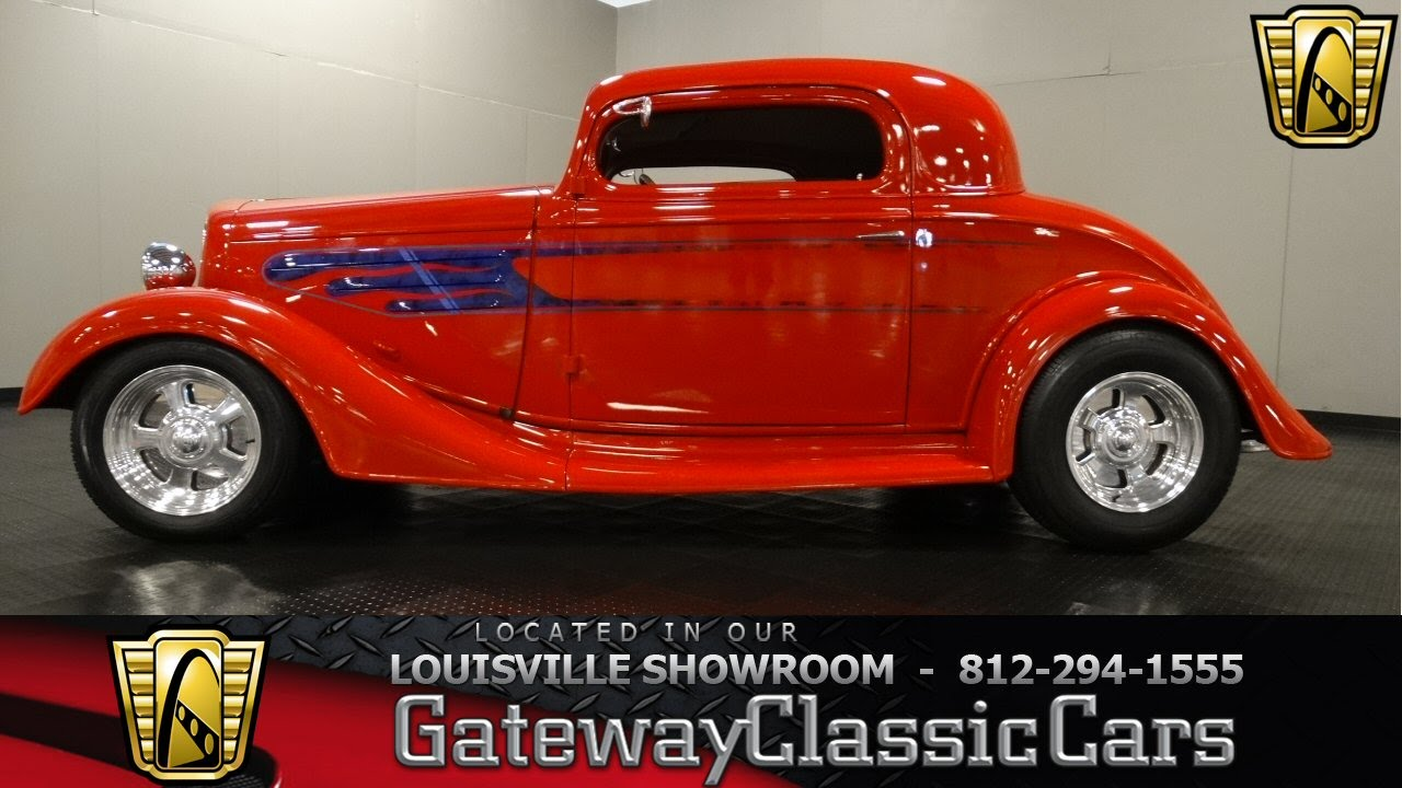 1935 Chevrolet 3 Window Coupe - Louisville Showroom - Stock #990