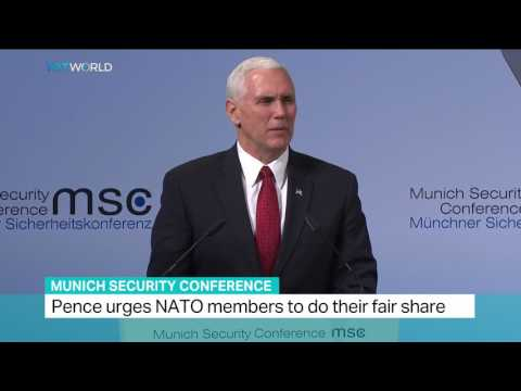 Munich Security Conference: Pence says the US strongly supports NATO
