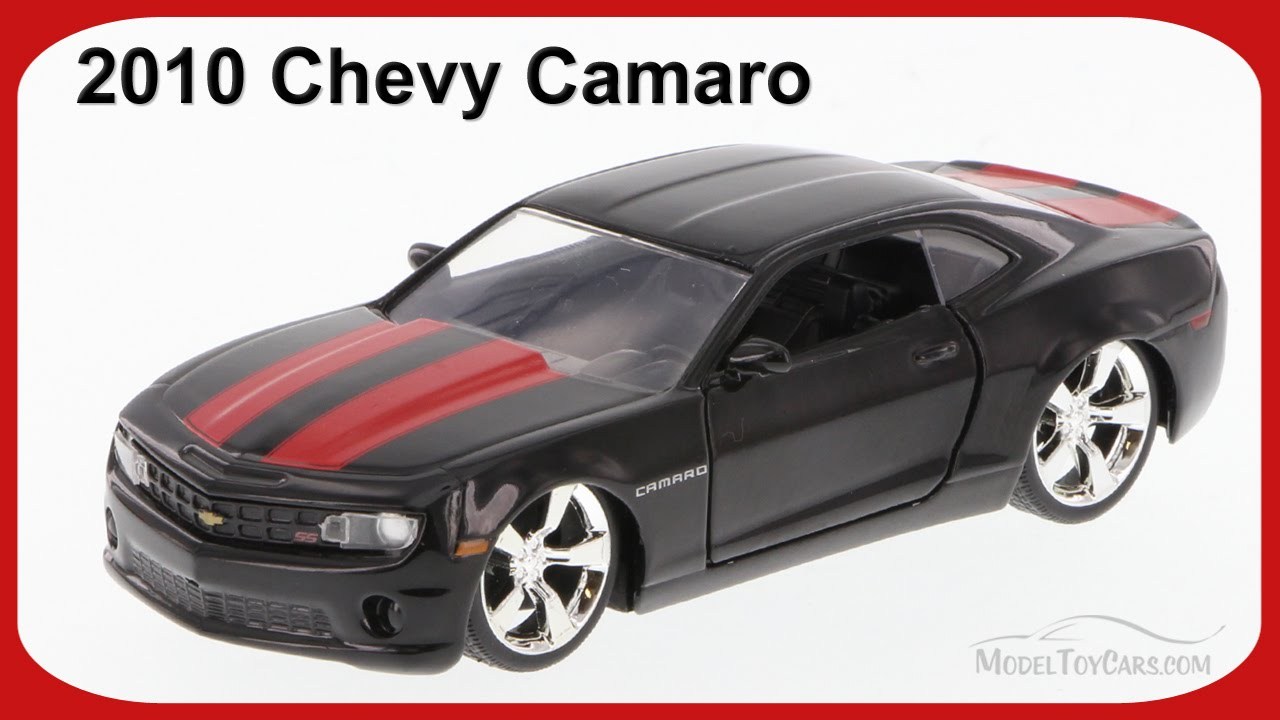 1955 chevy stepside tow truck black jada toys bigtime - 2010 Chevy Camaro Black W Red Stripes Jada Toys 96945 1 32 Scale Diecast Car