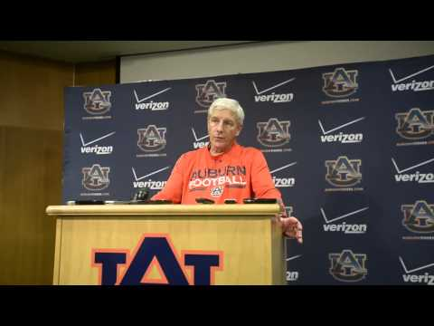 Auburn defensive coordinator Ellis Johnson Talks Pass Rush: Aug. 3, 2014