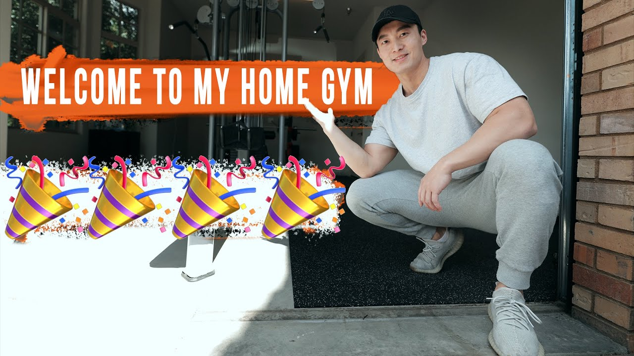 GYMS CLOSED! SO I BUILT MY OWN GYM!