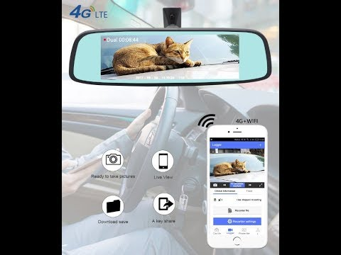 Junsun K755 Special 4G LTE Car Camera Mirror
