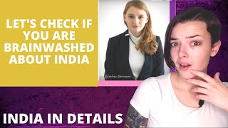 Are you brainwashed about India | REACTION!! | Indi Rossi