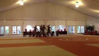 Military Hip-Hop UDA Home Routine- BRHS Varsity Black Pearls Dance Team