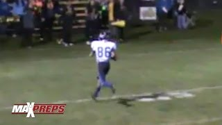 One-handed receiver sets record