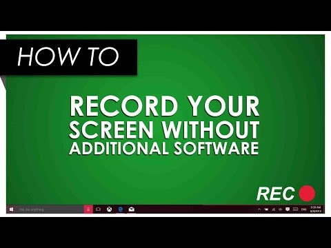 windows 10 screen recorder how to record your voice c doovi. Black Bedroom Furniture Sets. Home Design Ideas