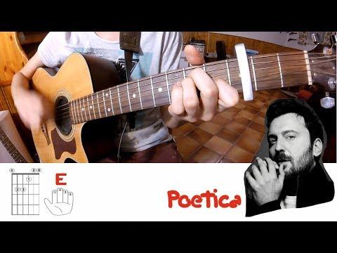 Cesare Cremonini - Poetica / Cover Acustica + Accordi + Testo