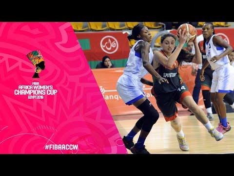 Quarter-Finals - CNSS v Sporting Basketball Club - Full Game
