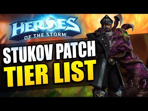 Nubkeks' Heroes of the Storm Tier List // Stukov Patch - 2017 Season 2