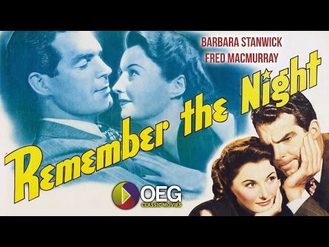 Remember The Night 1940 Trailer