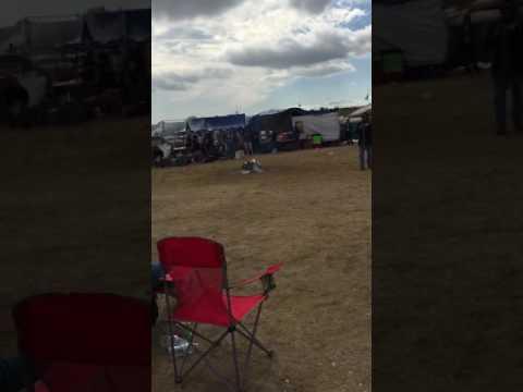 Dennis Banks speaking at Oceti Sakowin camp, Standing Rock, Near Cannonball, ND, September 6, 2016