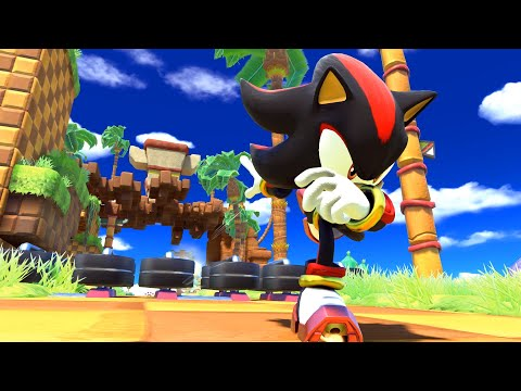 Sonic Forces DLC - Shadow in Modern Sonic Stages