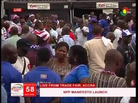 Akufo-Addo's speech @ NPP 2016 Manifesto launch - 9/10/2016