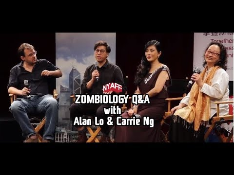 NYAFF 2017 - ZOMBIOLOGY: ENJOY YOURSELF TONIGHT Q&A - with director, Alan Lo, and actress, Carrie Ng