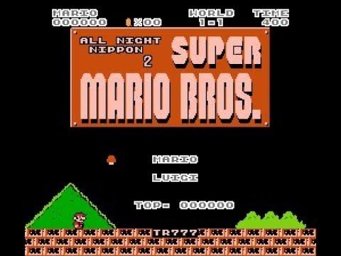 All Night Nippon 2 Super Mario Bros. (SMB1 Hack)
