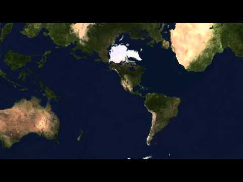 Visualizing the Earth in different projections