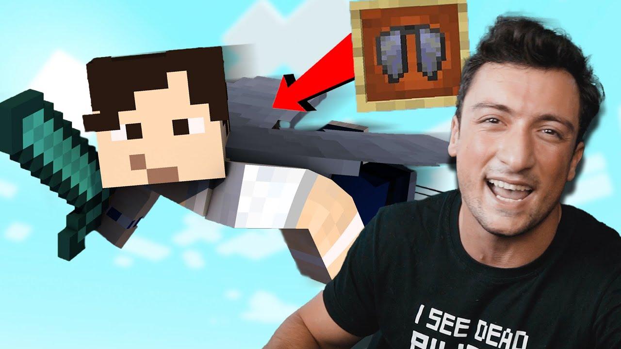 MINECRAFT'ta NETHERITE SET DİZDİM VE ELITRA'yı BULDUM! *gelişiyoruz* Minecraft Survival Ekip