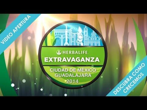 VIDEO APERTURA EXTRAVAGANZA MEXICO 2014 HERBALIFE