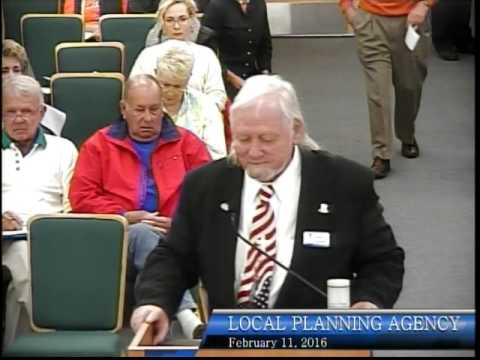 City of Bonita Springs, Local Planning Agency meeting, February 11th, 2016 - Part 1