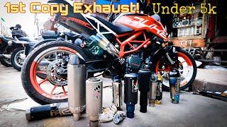 Different Types Exhaust for KTM DUKE 390